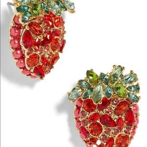 BaubleBar Strawberry Stud Earrings